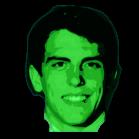 Redwine Head Poster green